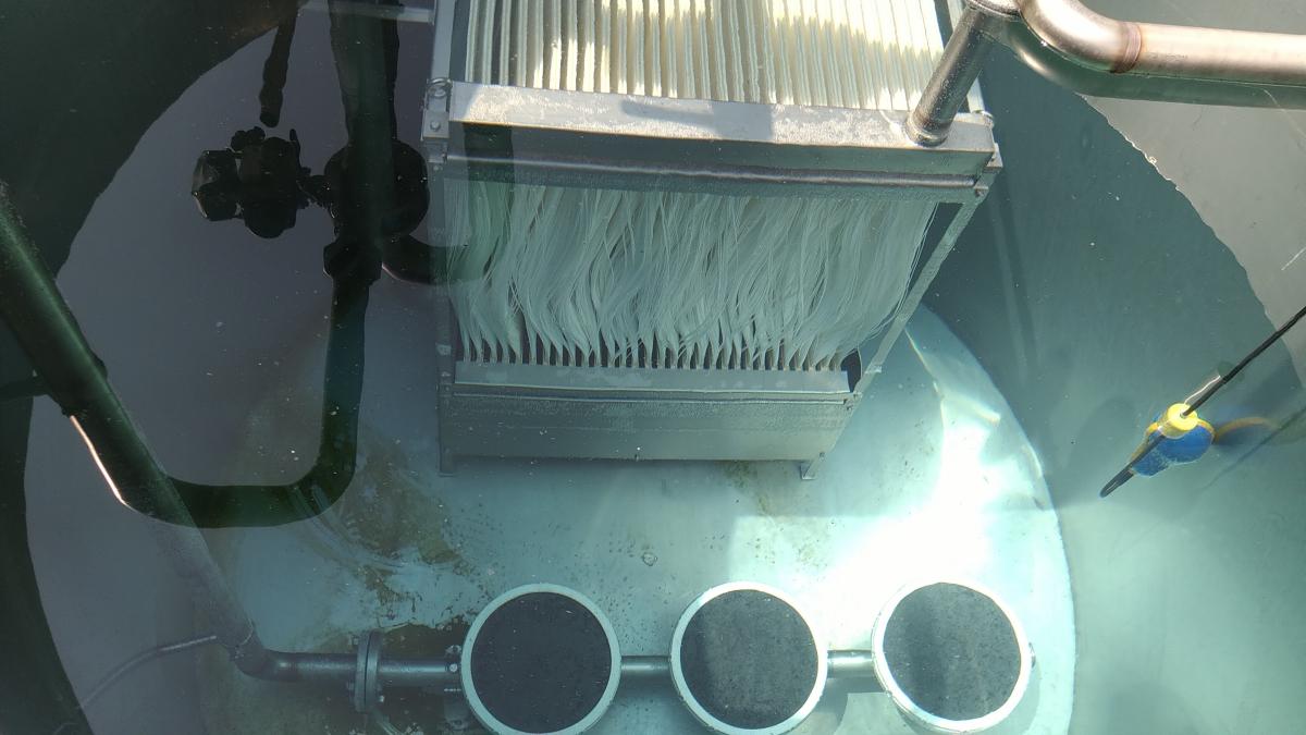Impianto di depurazione acque pastificio