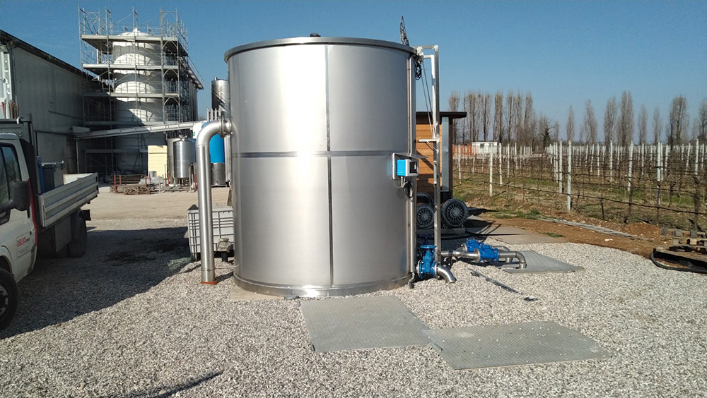 Impianti depurazione acque cantine