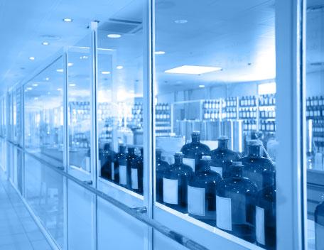Industrie farmaceutiche e della cosmesi