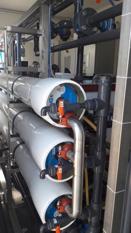 Depurazione acque tintoria
