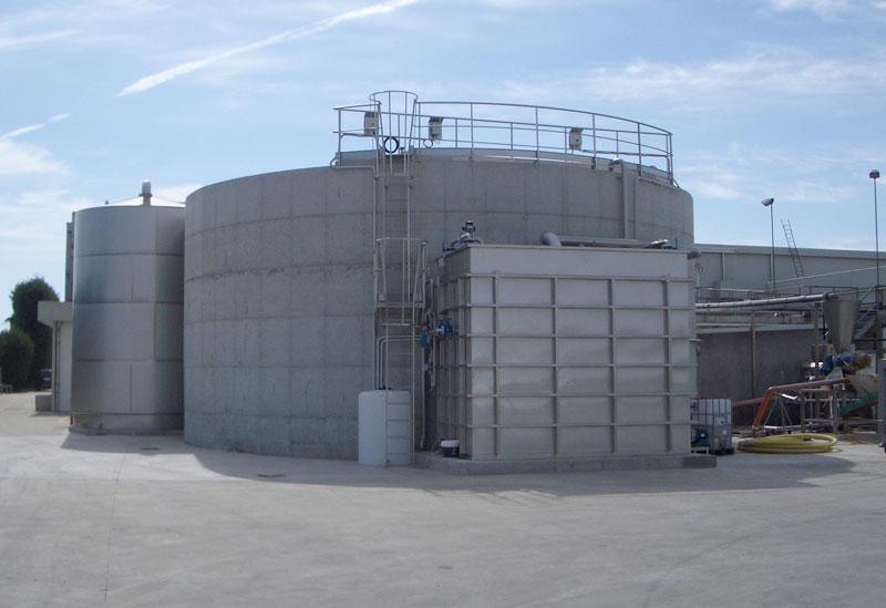 Impianto depurazione acque macelli